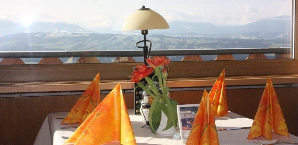 Feiern auf dem Hohenpeißenberg im Terrassen-Cafe-Restaurant Bayerischer Rigi